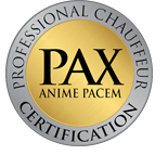 PAX Chauffeur Training Certified