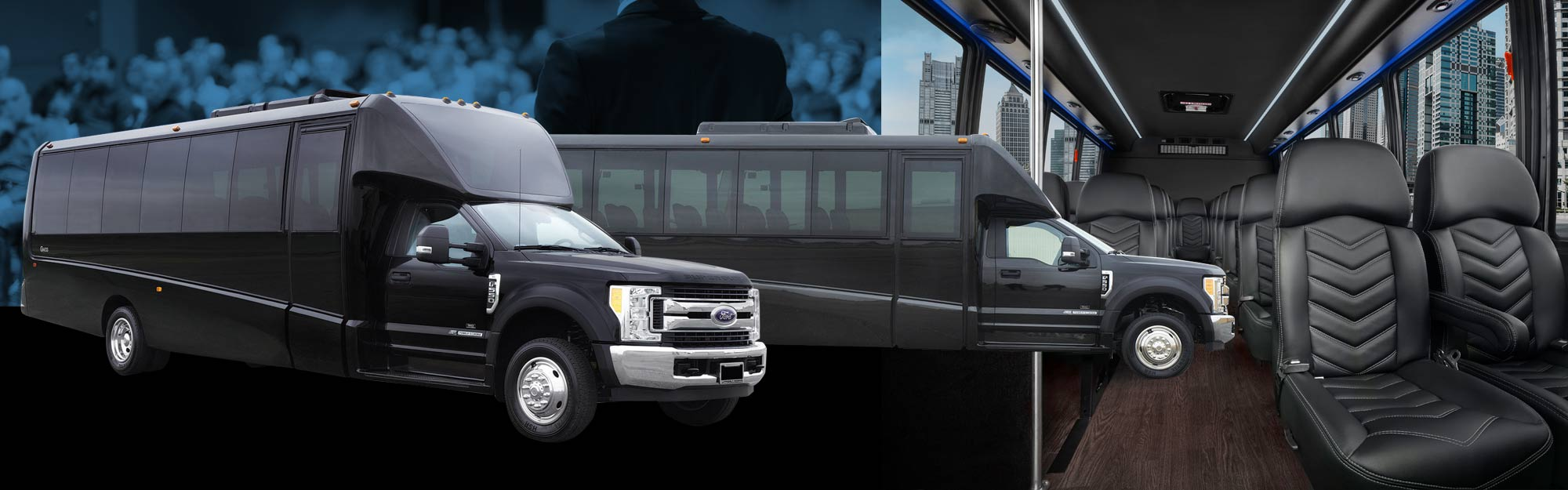 DENVER CONVENTION CENTER EXECUTIVE SHUTTLE MINIBUS BUS COACH SERVICES