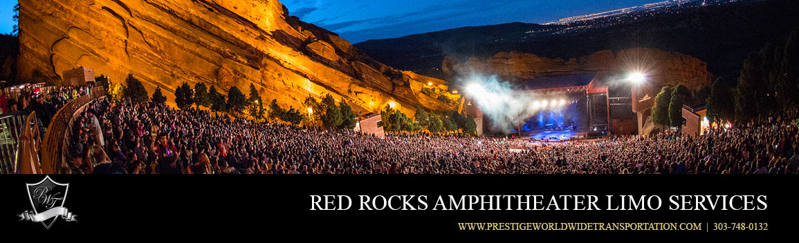 Red Rocks Concert Limo Service Rentals - Red Rock Transportation